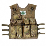 Children's Multi Terrain Camo Assault Vest